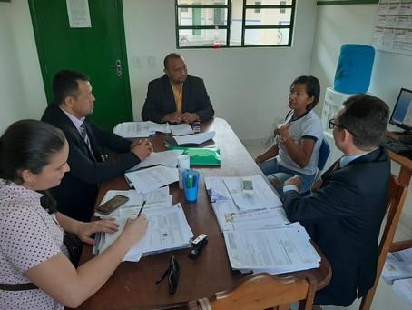 Presidente da Câmara e vereadores reivindicam melhorias na Escola Antônio Ricardo Moura Damasceno