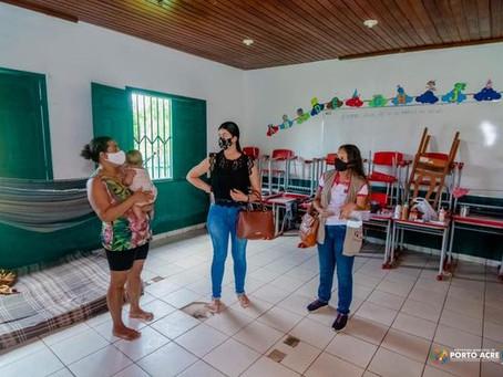 Prefeitura assiste famílias em situação de risco e vulnerabilidade