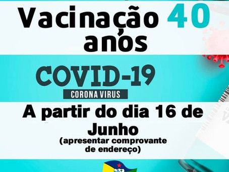 Vacinação contra à COVID-19 avança em Xapuri!