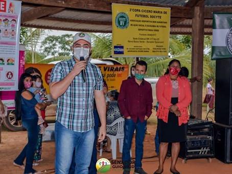 Maia visita assentamento Baixa Verde e leva ações de saúde e assistência social a comunidade