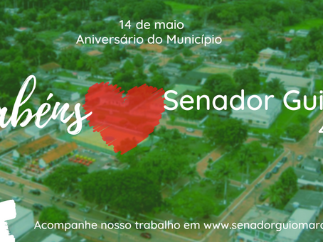 Presidente da Câmara parabeniza o município de Senador Guiomard pelos seus 44 anos