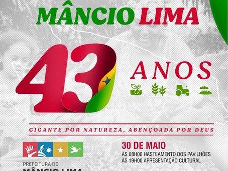 Live Comemorativa 43 anos de Mâncio Lima