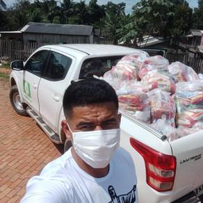 Município de Plácido de Castro faz 44 anos e entrega cestas básicas as famílias carentes