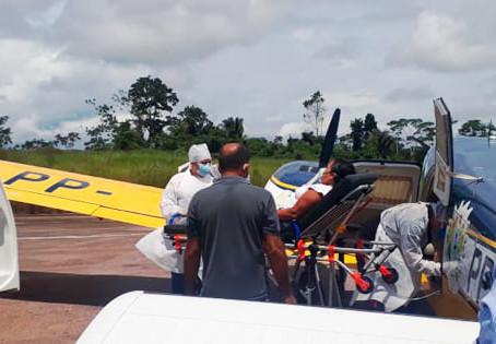 Governo do Estado libera suporte aéreo para pacientes acometidos de COVID-19 em Manoel Urbano