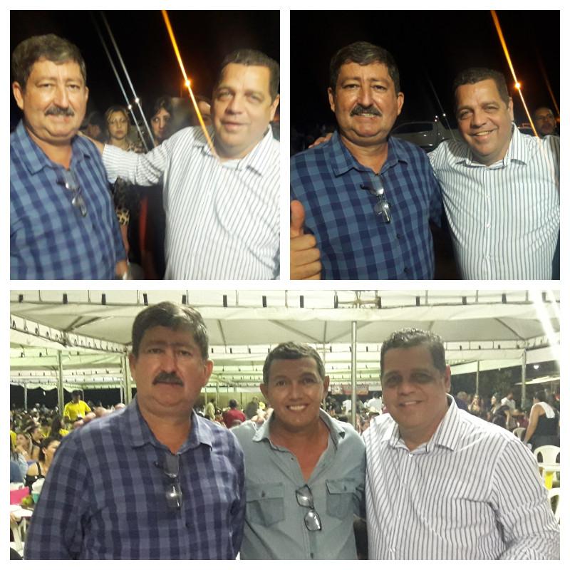 Prefeito Ederaldo Caetano, Vice-Prefeito Marquinhos, Vice-Governador Major Rocha
