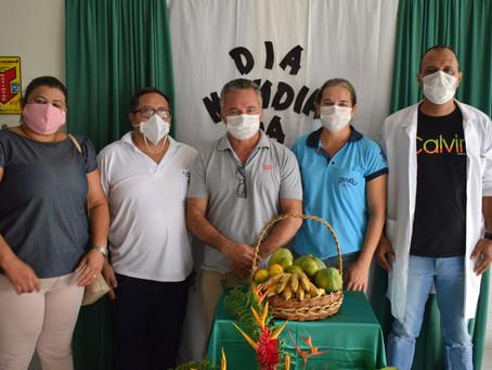Prefeitura de Rodrigues Alves realiza ação em alusão ao Dia Mundial da Saúde