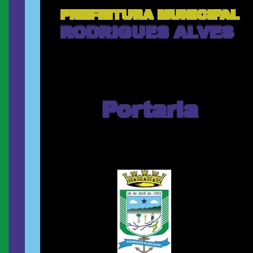 Portaria 001/2021 - Nomear Miqueias Ferreira do Nascimento