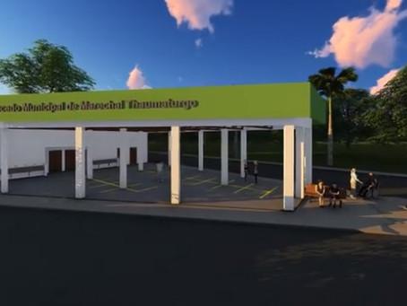 Prefeito Isaac Piyãko apresenta projeto de construção de mercado popular