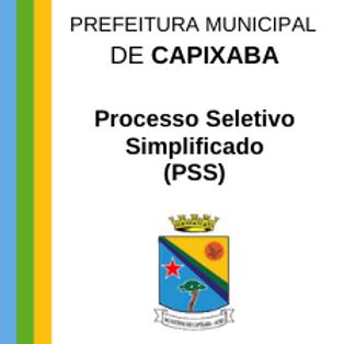 PSS Nº 001/2021 - CARGOS DO QUADRO FUNCIONAL DA PREFEITURA MUNICIPAL