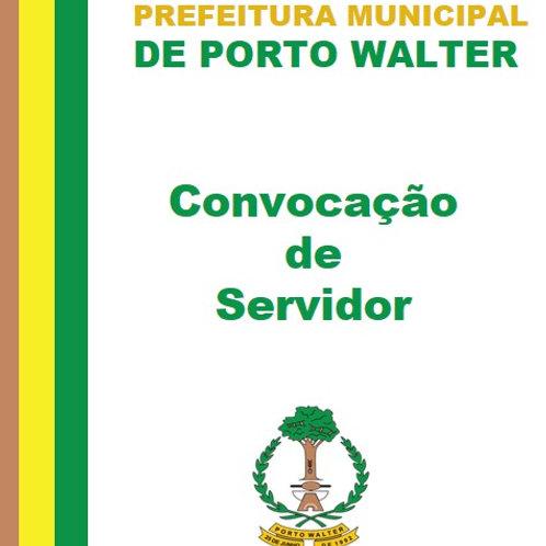 Convocação de Servidor - Gerisson Rodrigues Lima