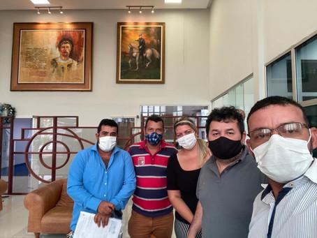 Visita institucional a Corte de Contas Acreana (TCEAC) é realizada por vereadores guiomarenses