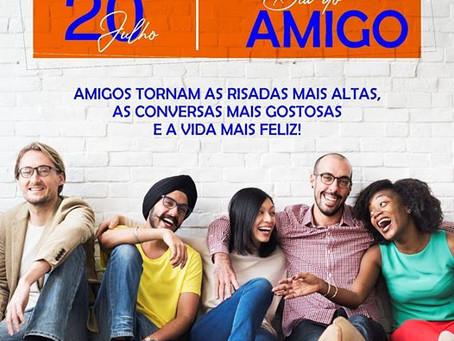 Prefeitura de Rodrigues Alves dedica homenagem ao Dia do Amigo