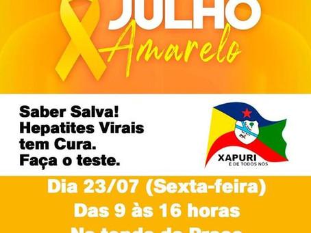 Campanha: Julho Amarelo