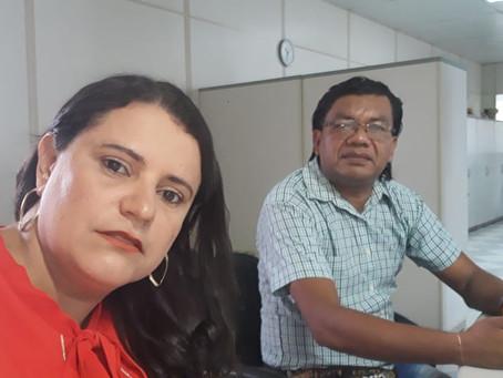Vereador Nasso Kashinawa e vereadora Neirimar Lima cumprem agenda na capital esta semana