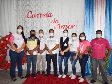 Município de Rodrigues Alves recebe unidade móvel do Hospital de Amor de Barretos