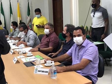 Prefeito Jailson Amorim participa de encontro na AMAC, em Rio Branco