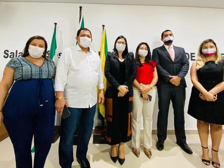 Vereadores de Tarauacá recebem visita dos novos procuradores jurídicos da Prefeitura
