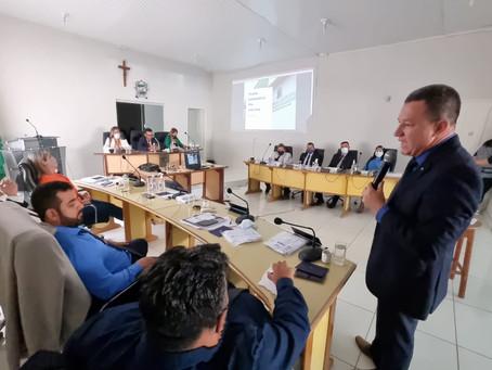 Prefeitura de Senador Guiomard vai a Câmara de Vereadores para apresentação do PPA