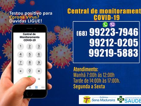 Central de Monitoramento covid-19