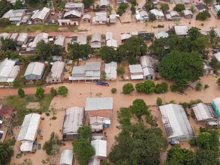 Prefeitura realiza auxílio as famílias atingidas pela cheia do Rio