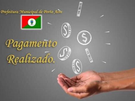 Prefeitura paga servidores dentro do mês trabalhado e injeta recursos para movimentar e economia