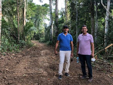 Prefeitura de Marechal Thaumaturgo inicia os trabalhos de abertura de ramal