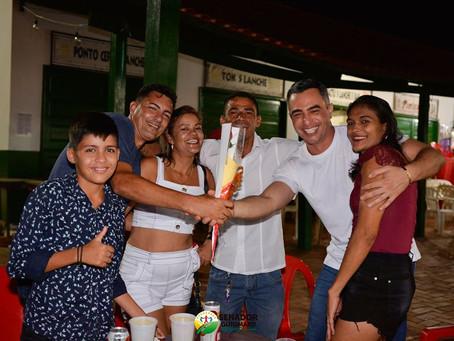 Prefeito André Maia ressalta o Réveillon da Família realizado em Senador Guiomard na Praça Fontinele