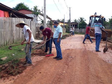 Prefeitura de Bujari inicia mutirão na Rua João Reis Prachede