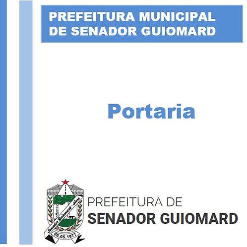 Portaria N° 004/2021 - NOMEAR a senhora Antonia Selma Martins da Cruz
