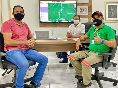 Prefeito garante expansão da rede de energia elétrica até a Comunidade Caiporinha com Energisa