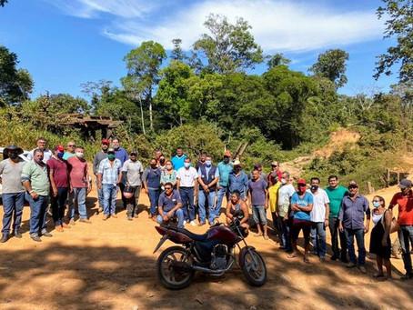 Prefeito participa de agenda com lideranças do PA Tocantins e alinha construção da ponte Rio Andirá