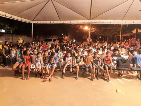 Prefeitura de Xapuri e rondonistas do Projeto Rondon realizaram uma sessão de Cinema no Sibéria