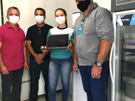 Rodrigues Alves – Energisa doa equipamentos para a área de saúde