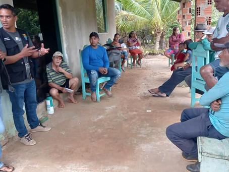 Vereadores dialogam com comunidade do ramal Tracuá no PAE Remanso