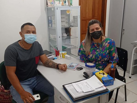 Mandato participativo: Vereadora visita Unidade de Saúde Miguel Severino