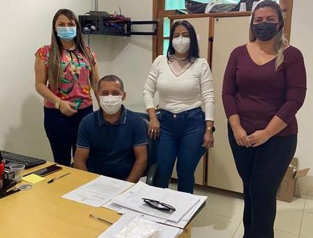 Vereadoras cumprem agenda de fiscalização na saúde e na assistência social do Quinari