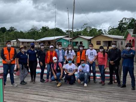 Rodrigues Alves - Prefeitura faz doação de donativos as Comunidades do Rio Paraná dos Mouras