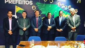 Prefeito Jailson Amorim cumpre agenda em Brasília em busca de recursos para o município