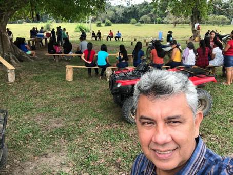 Comunidade Belo Monte Seringal São Francisco do Iracema comemora abertura de ramais