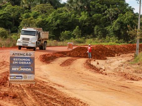 Acesso à balsa entre Rodrigues Alves e Cruzeiro do Sul está em fase final de terraplanagem