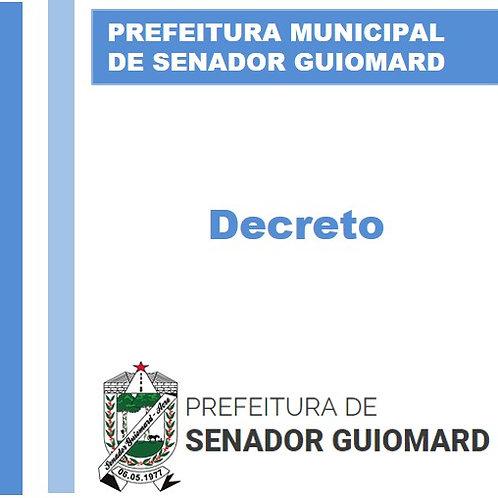 Decreto N° 046/2021 - NOMEAR a senhora CLEIDE FERREIRA DA CUNHA QUEIROZ