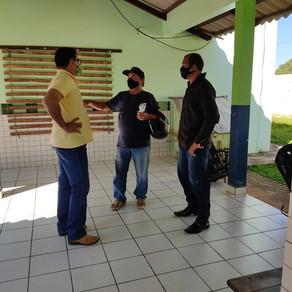 Prefeitura realiza iniciação de curso técnico e entrega de títulos de terra no P.A. Alcoobrás