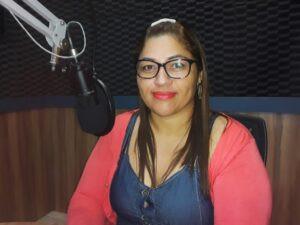 Coordenadora de Imunização, Lívia Saldanha