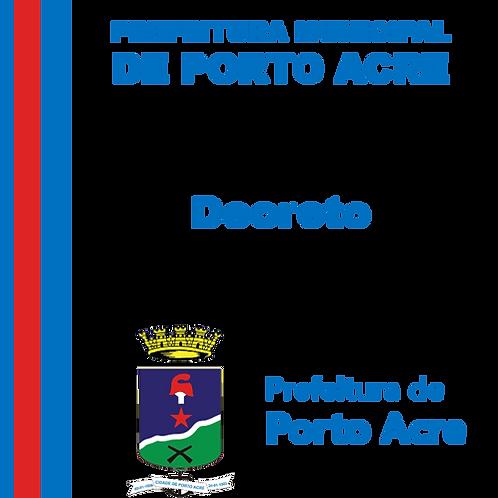 Decreto n° 1.842/2020 - ALTERA O DECRETO Nº 1.765