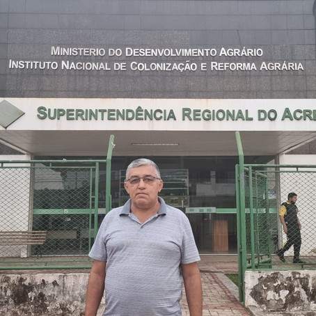 Secretário de Agricultura reivindica regularização de assentamentos em Feijó ao Incra