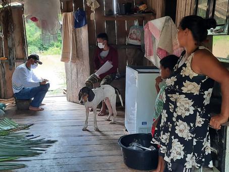 Prefeitura e SEPA realiza Levantamento de perda da produção agrícola de ribeirinhos atingidos