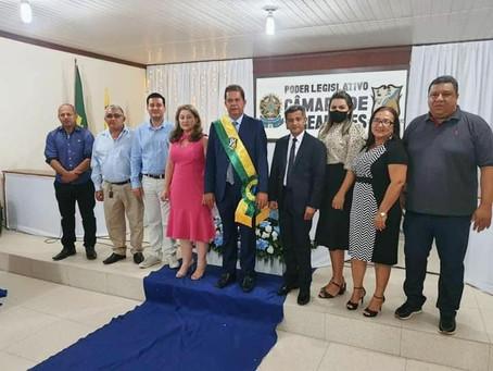 Prefeito Kiefer Cavalcante e vice Elson José são empossados para o quadriênio 2021-2024