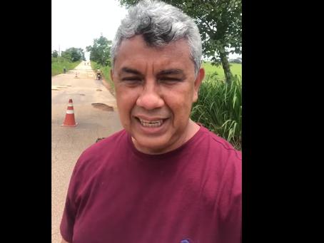 União entre prefeitura de Xapuri e governo do Estado do Acre realizam ação conjunta de tapa buracos