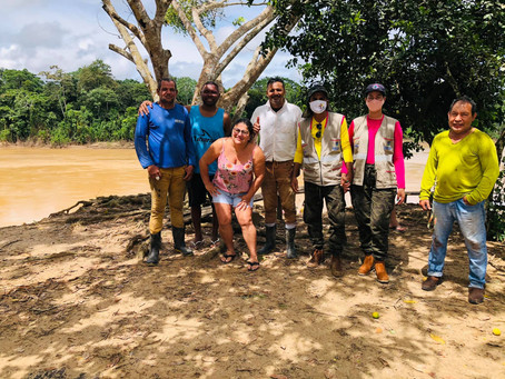 Porto Acre entregas mais donativos aos ribeirinhos