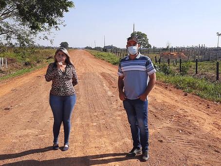Vereadores visitam ramal Oco do Mundo e parabenizam gestão municipal pelo trabalho de recuperação